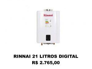 RINNAI 21 LT DIGITAL